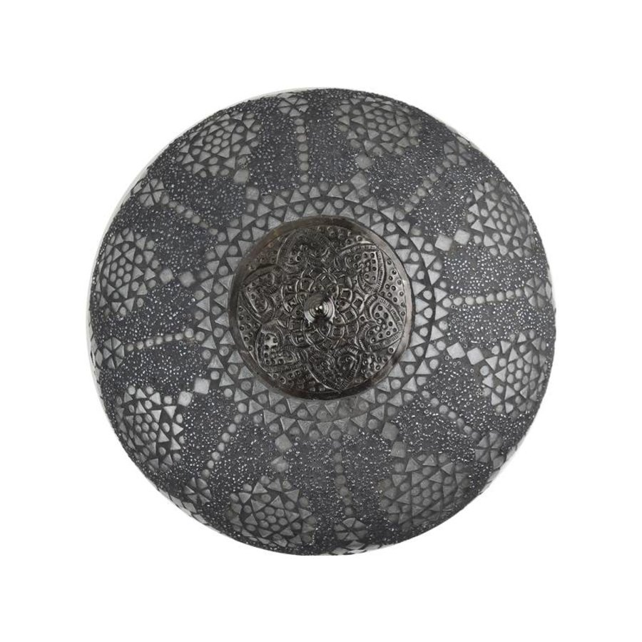 Design plafonniere transparant grey