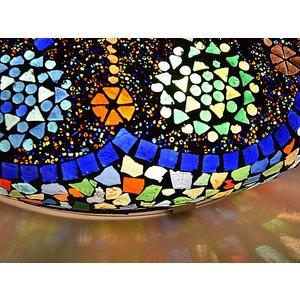 Oosterse plafondlamp design multi colour