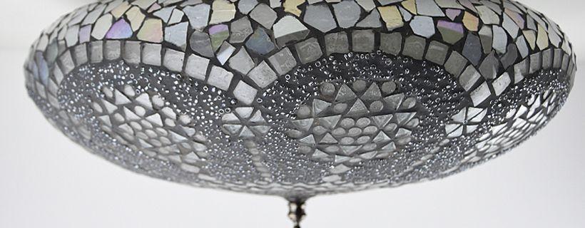Een oosterse aparte plafondlamp