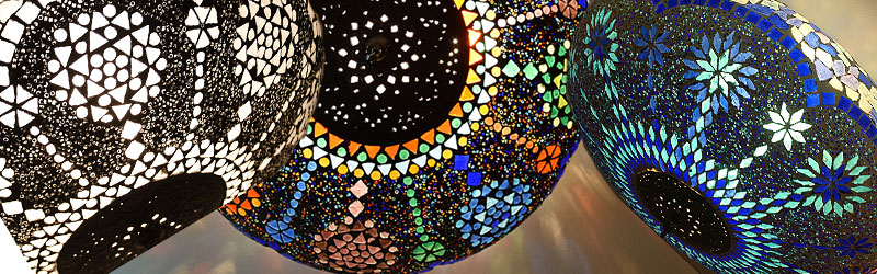 Verschillende design lampen