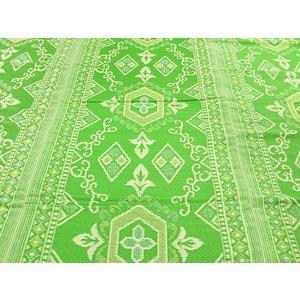 Extra groot buitenkleed groen