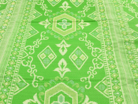 Kleur buitenkleed groen geel