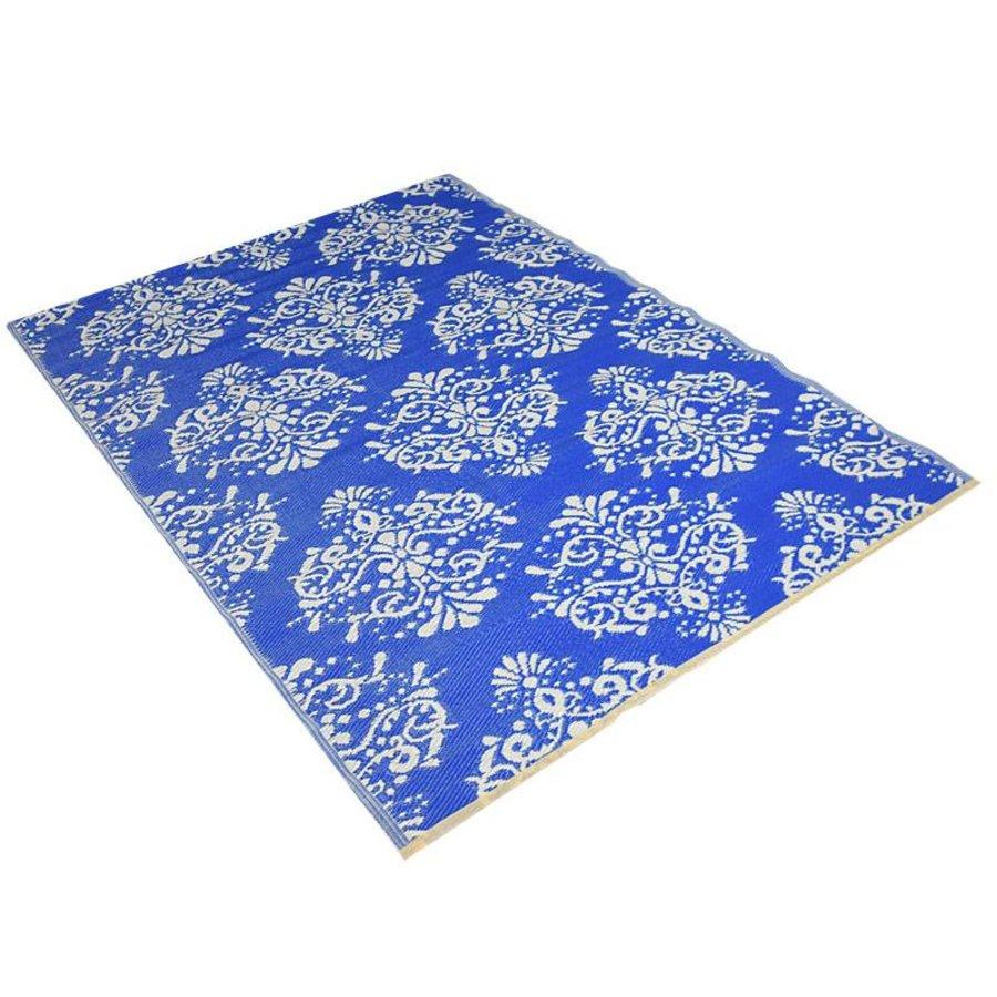 Blauw flower buitenkleed