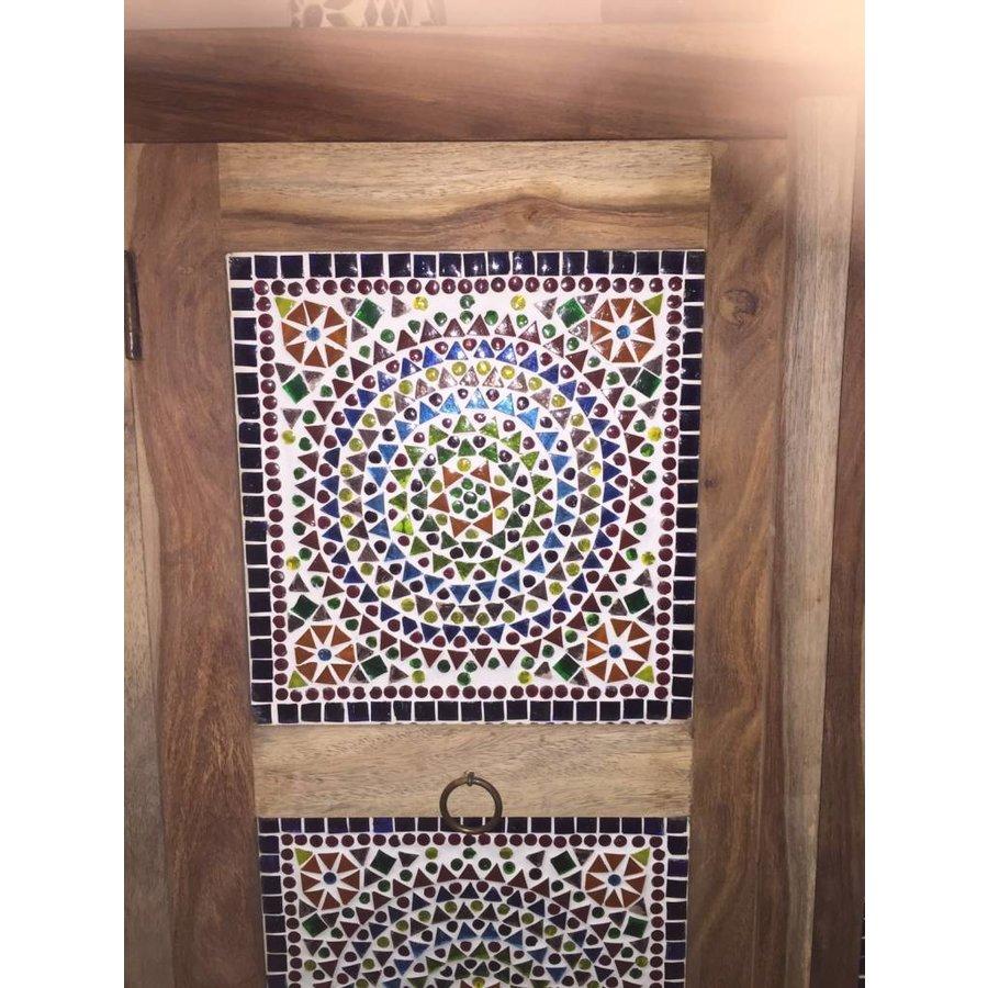 Kast mozaiek multi colour