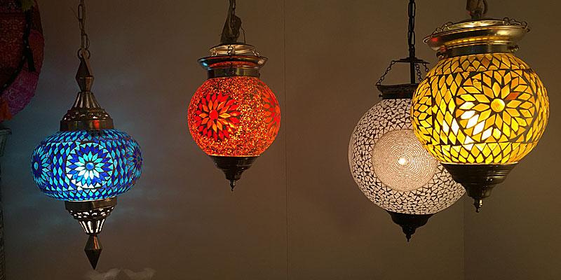 Oosterse mozaïek lampen