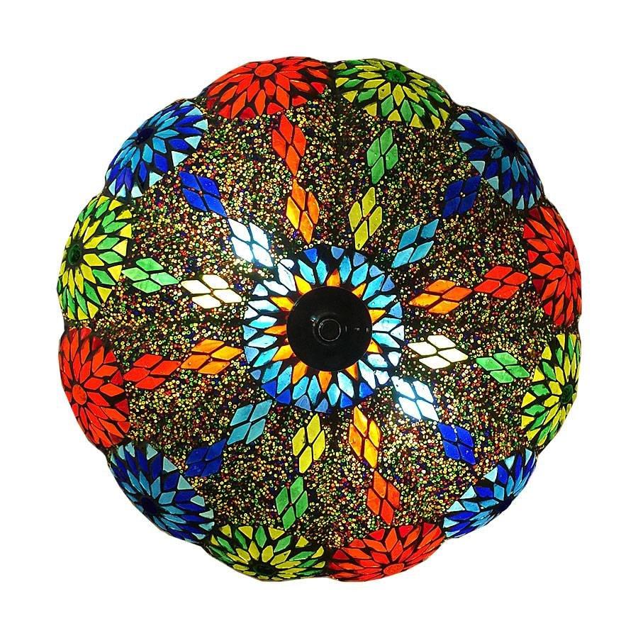 Plafonniere kleuren bloemen
