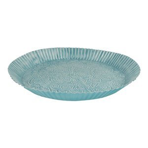 Blauwe oosterse tray