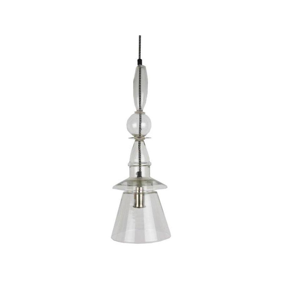 Hanglamp helder glas vormen