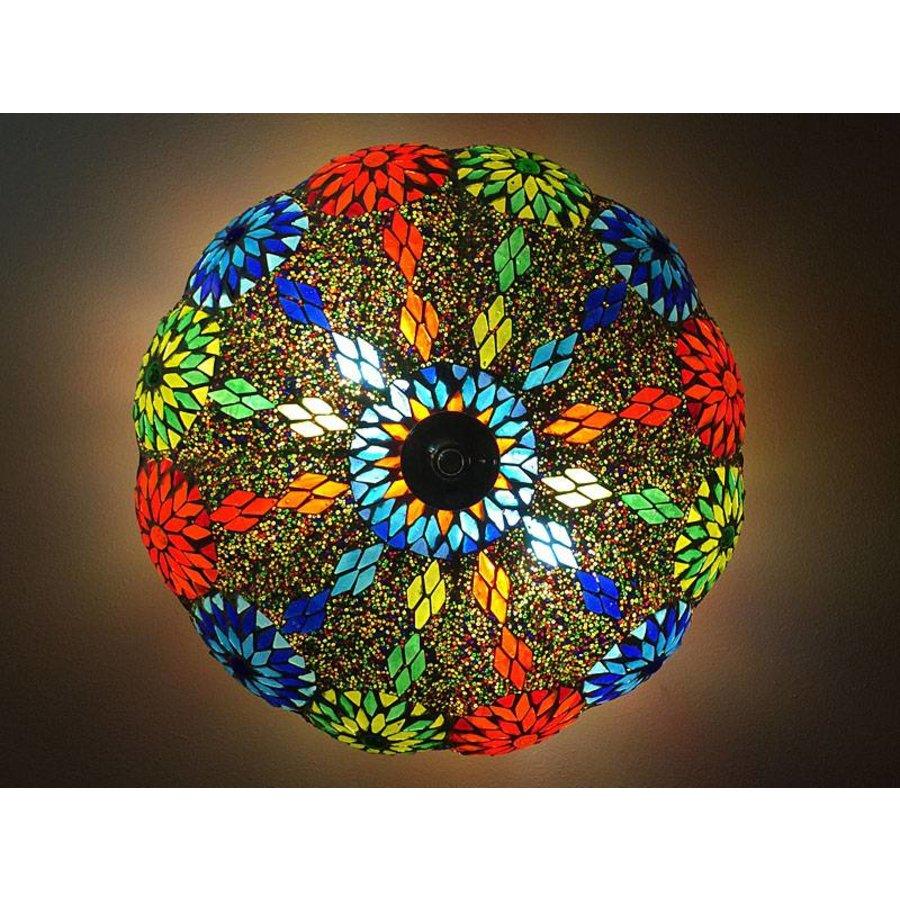 Plafonniere multi colour bloem