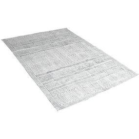 Vloerkleed grafisch grijs