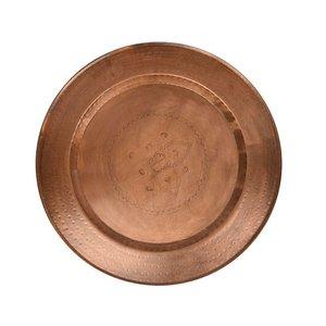Ooster dienblad koper marrakech