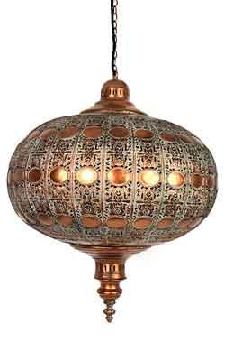 Nieuwe kleur filigrain lamp
