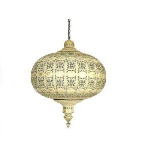 Hanglamp goud vintage