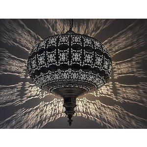 Hanglamp zilver sparkle