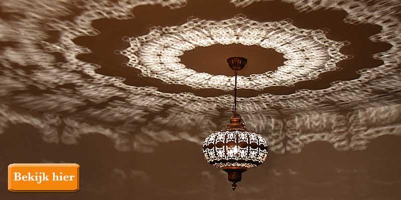 Sfeerverlichting met filigrain lampen