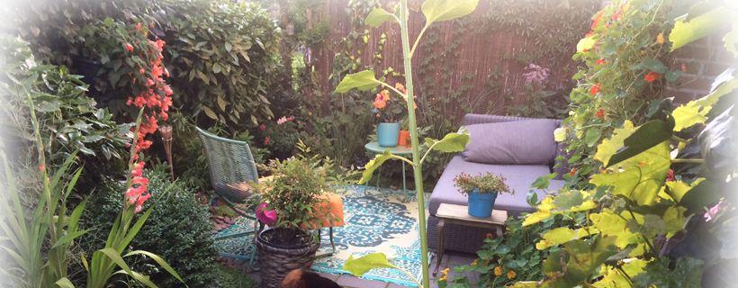 Buiten vloerkleed als buitenkleed in de tuin