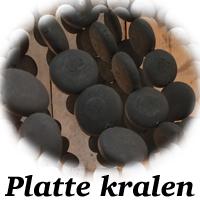 Platte kralen van kroonluchter
