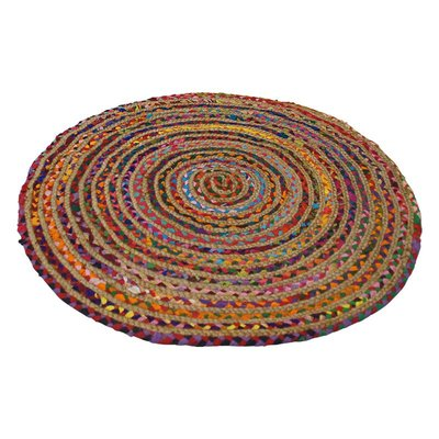 Rond ibiza kleed multi colour