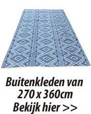 270 x 360 cm buitenkleden