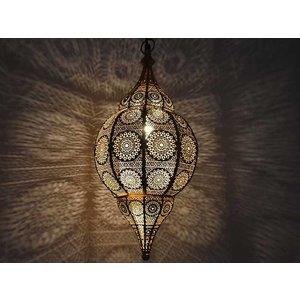 Gouden hanglamp filigrain