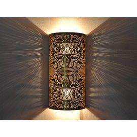 Wandlamp goud vintage