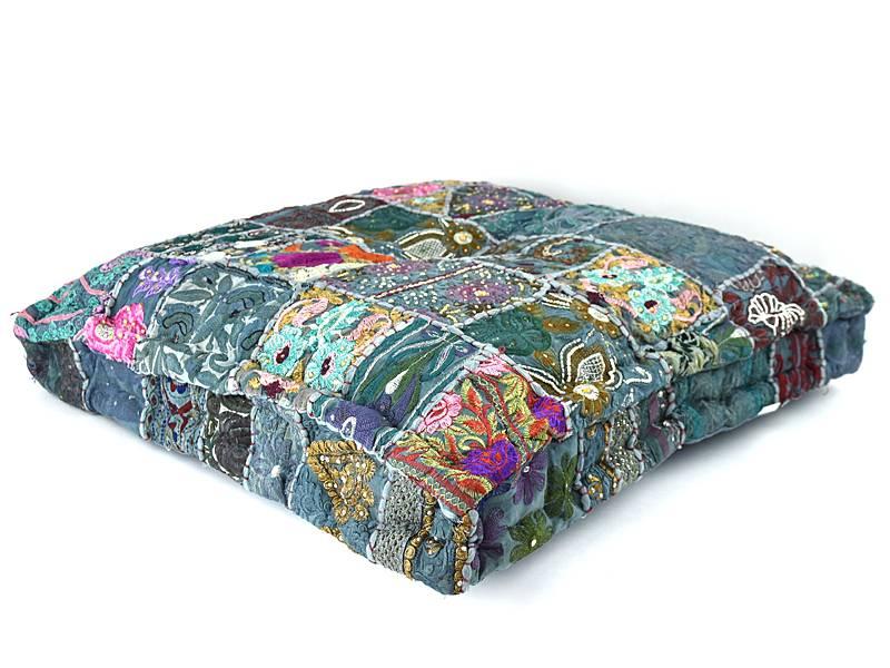 Patchwork kussens, kleurrijke matraskussen, en sierkussens - Merel ...