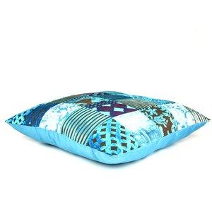 Turquoise loungekussen
