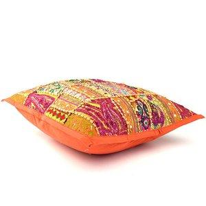Kussentje oranje India