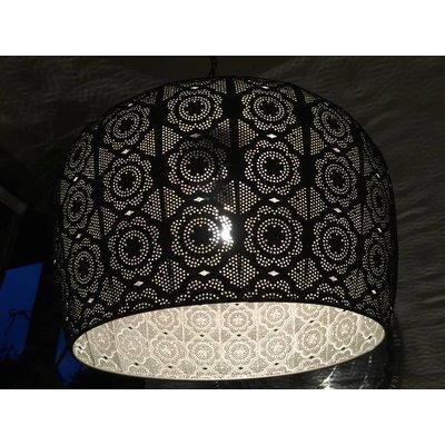 Hanglamp bloemenpatroon filigrain