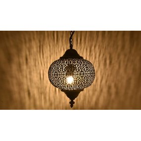Oosters filigrain hanglampje