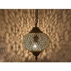 Goud bruin hanglampje