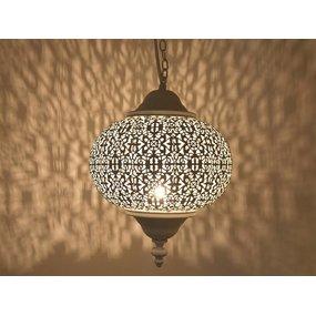 Wit oosters hanglampje
