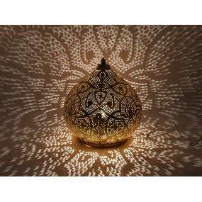 Tafellamp arabisch goud