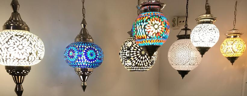 Mozaiek hanglampen