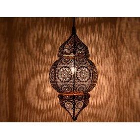 Klein oosters aladdin hanglampje zwart