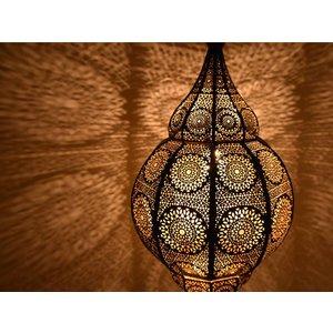 1001nacht hanglamp zwart goud