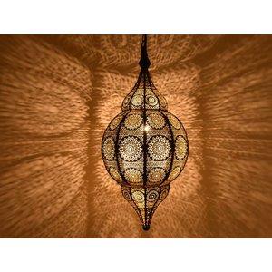 1001nacht hanglamp zwart met goud