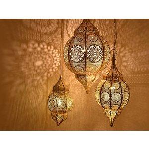 3 delige hanglampen set romantica