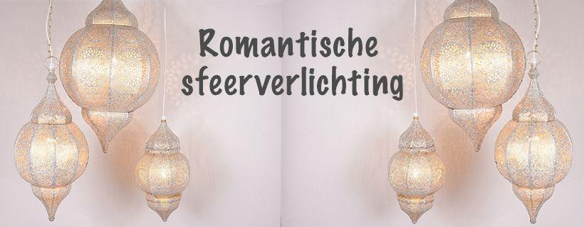 Romantiche oriëntaalse wit gouden hanglampen