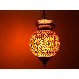 Hanglamp rood oranje