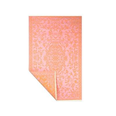 Wonder Rugs Oranje roze buitenkleed oosters design