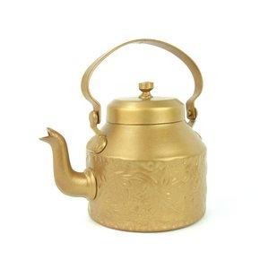 Gouden theepot orientique