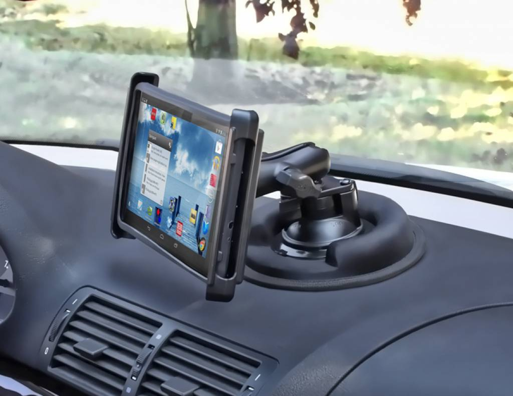 Cell Phone Holders For The Car RAM Mount Portable Friction Dashboard Mount RAP-279C - Emounting.nl