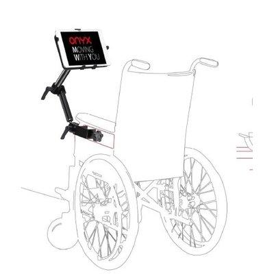 Onyx Rolstoel of kinderwagen flexibele Tablethouder