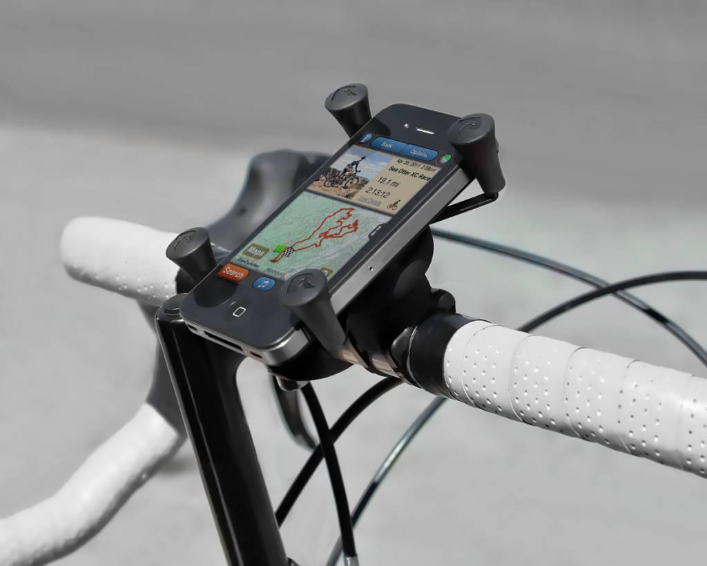 ram mount ez on off bicycle mount met universal x grip. Black Bedroom Furniture Sets. Home Design Ideas