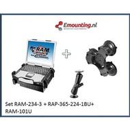 RAM Mount Laptop Triple suction set