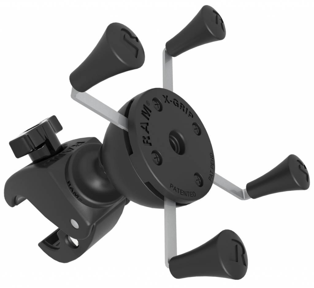 ram mount tough claw mount met universele x grip phone. Black Bedroom Furniture Sets. Home Design Ideas