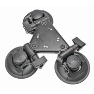 Brodit Triple zuignap base mount