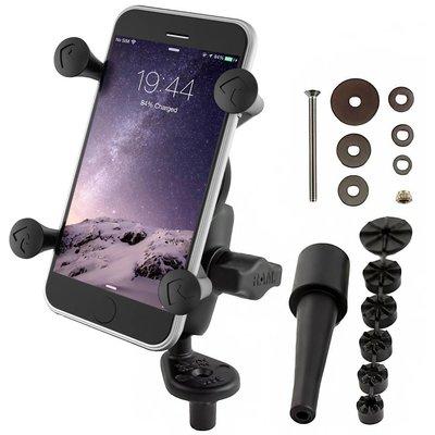 RAM Mount Balhoofdsteun Smartphone X-Grip set