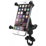 RAM Mount X-Grip iPhone 6/7/8 plus houder stuurstang set